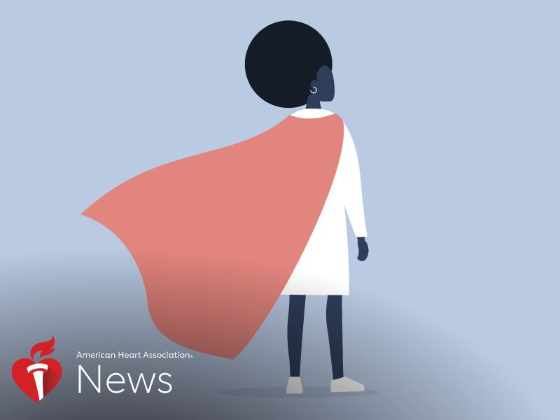 News Picture: AHA News: Being an African American 'Superwoman' Might Come With a Price