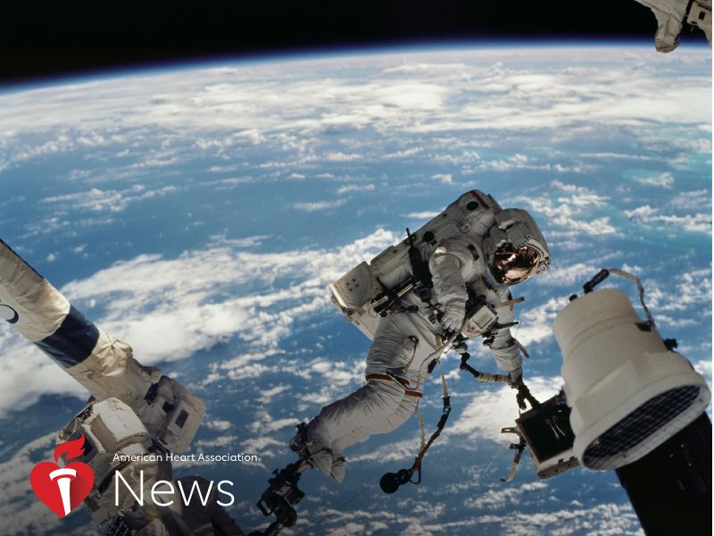 News Picture: AHA News: Earth-Based or Star-Bound, Heed These Heart-Healthy Lessons From Space