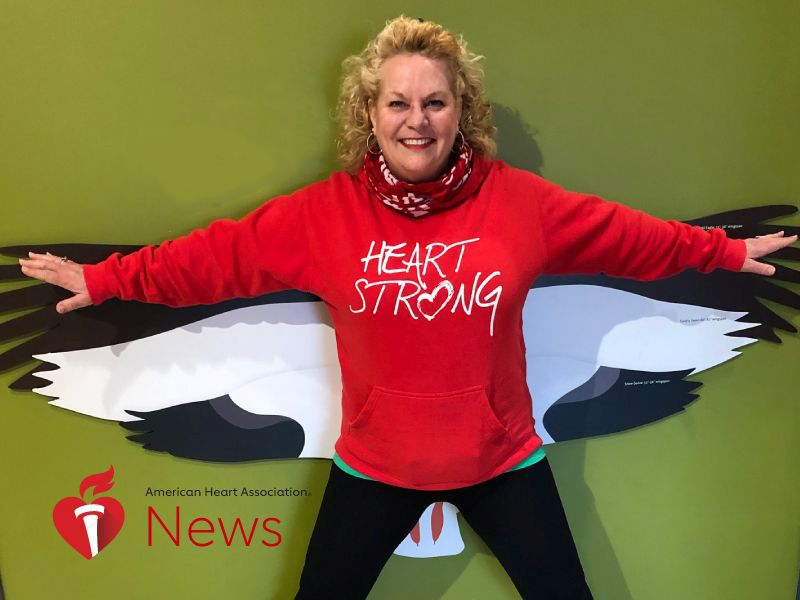 News Picture: AHA News: She Put Off Heart Symptoms Until It Was Almost Too Late