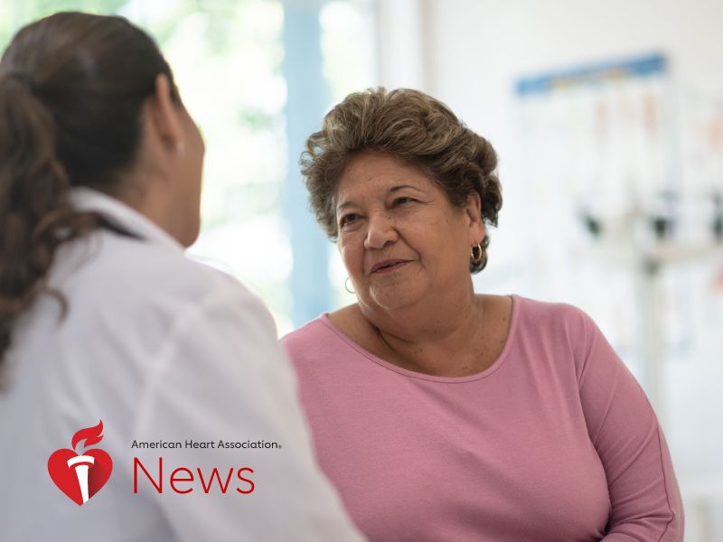 News Picture: AHA News: Stroke Rates Down for Mexican Americans, Up for White Adults