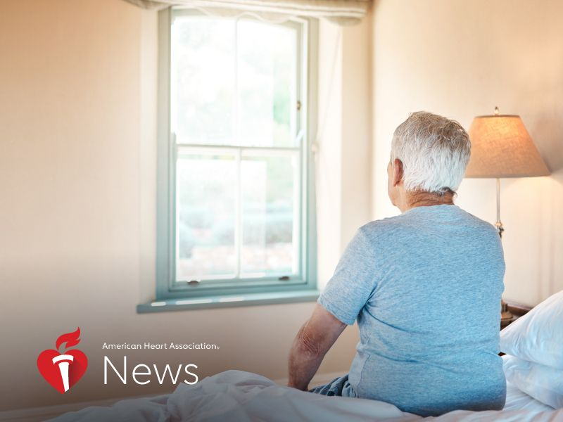 News Picture: AHA News: Stroke Survivors Might Need Better Screening for Depression