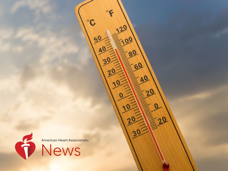 News Picture: AHA News: Swings in Daily Temperature May Affect Stroke Severity