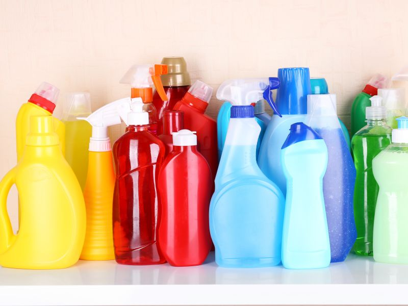 News Picture: Babies' Exposure to Household Cleaning Products Tied to Later Asthma Risk