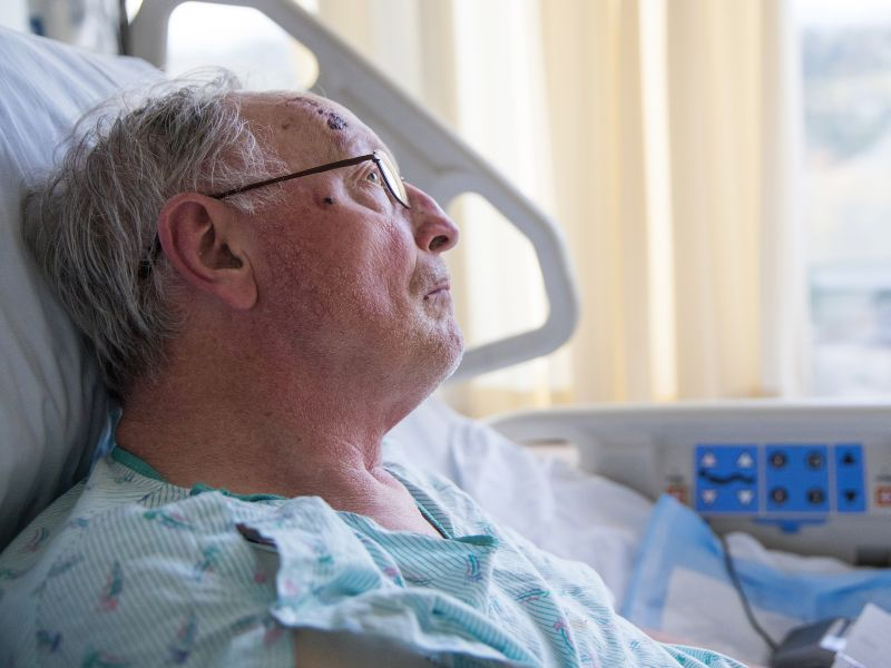 News Picture: Bedside 'Sitters' May Not Prevent Hospital Falls