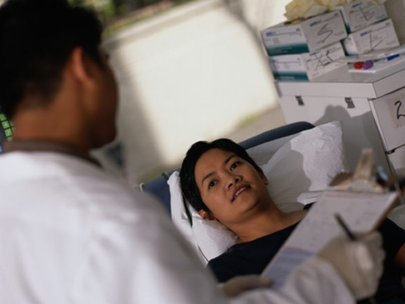 News Picture: Bone Marrow Transplants Less Risky Now