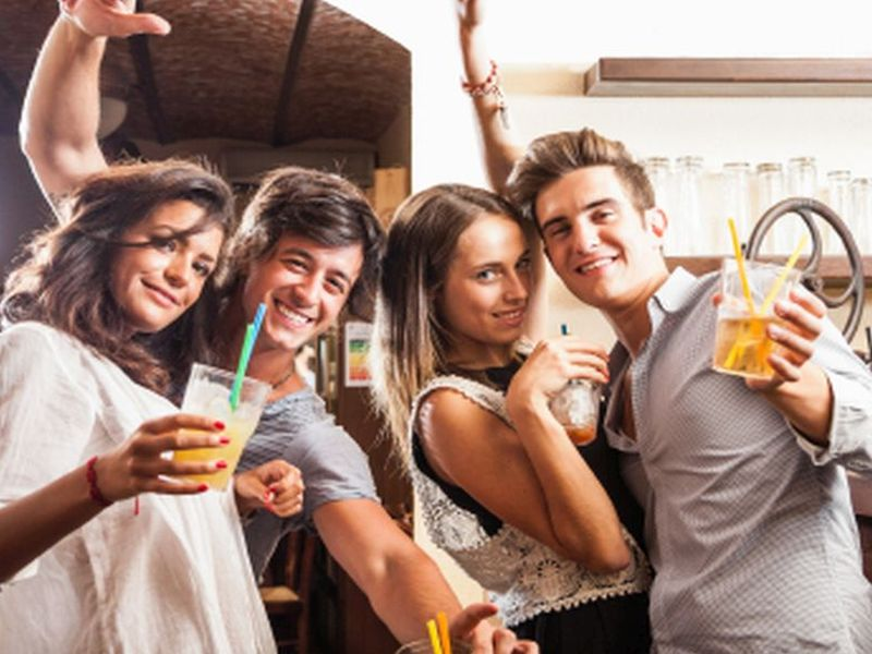 News Picture: Do Young Adults Really 'Age Out' of Heavy Drinking?