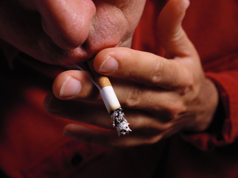 News Picture: Even After Stroke, Many Smokers Still Light Up