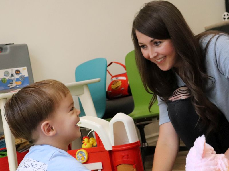News Picture: Getting Quality Autism Therapy From Thousands of Miles Away