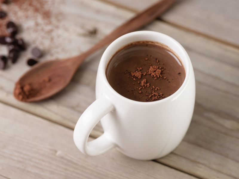 News Picture: Hot Chocolate Could Help Ease Painful Clogged Leg Vessels