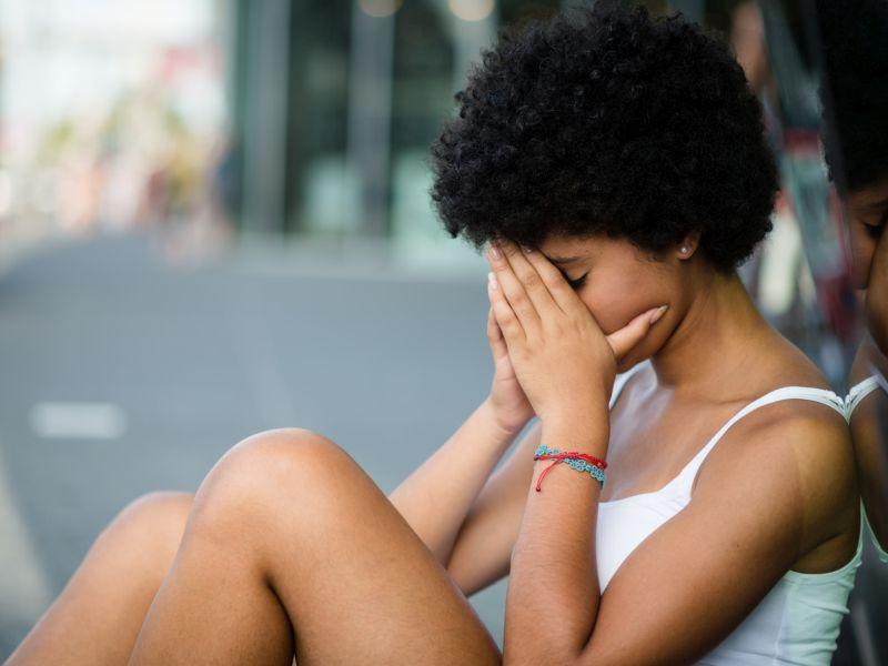 News Picture: Online Bullies Make Teen Depression, PTSD Even Worse: Survey