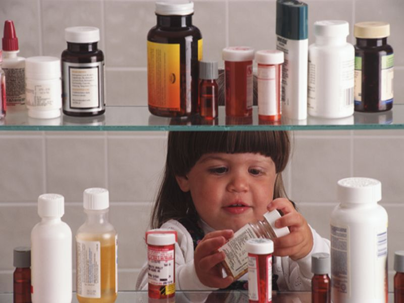News Picture: Parents, Grandparents to Blame for Many Child Drug Poisonings, CDC Warns