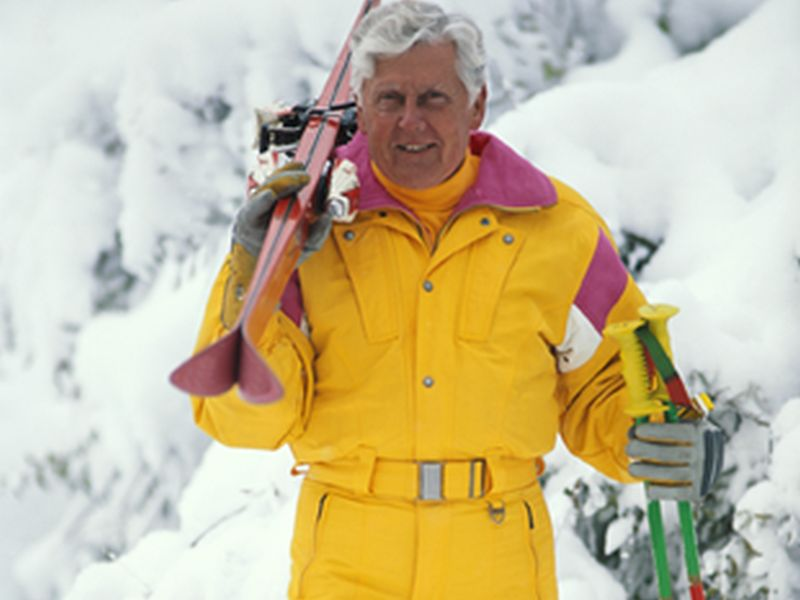 News Picture: Skiers Study Suggests Fitness May Stave Off Parkinson's