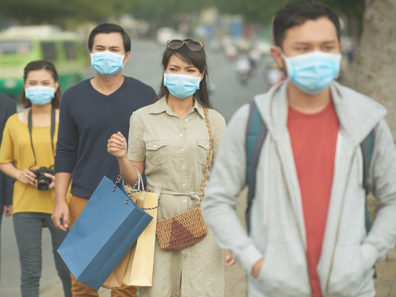 News Picture: Will a Face Mask Protect You From Coronavirus?