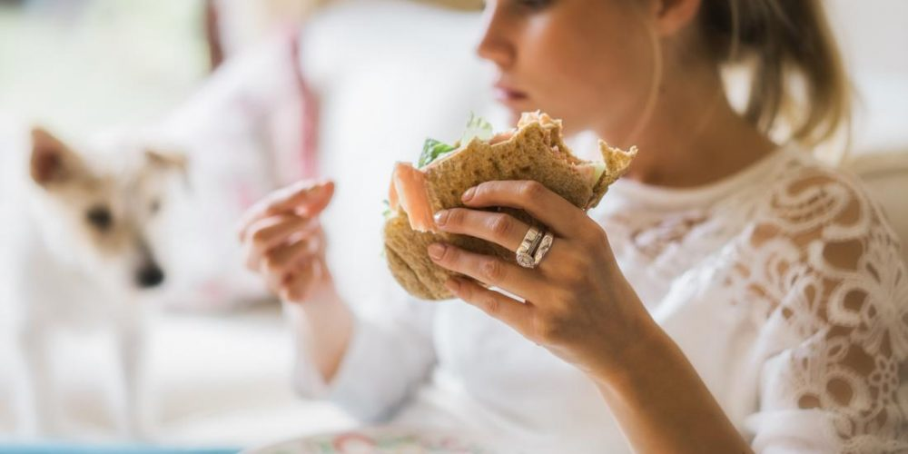 Is compulsive eating before a period normal?