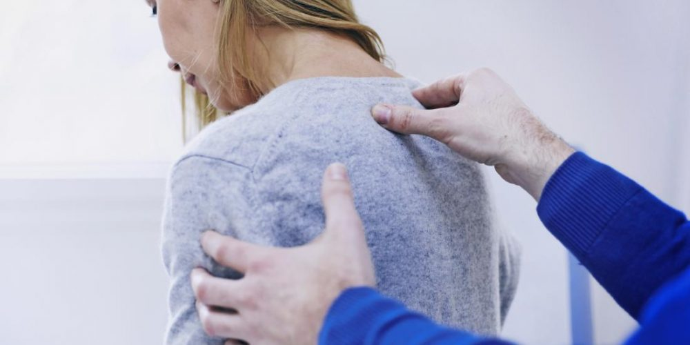 What are the most likely causes of upper back pain?