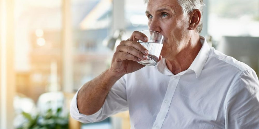 Does drinking water improve erectile dysfunction?