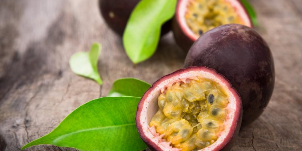 What are the health benefits of passion fruit?