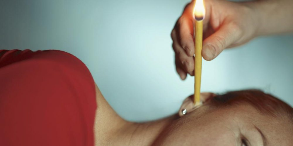 Is ear candling safe or effective?