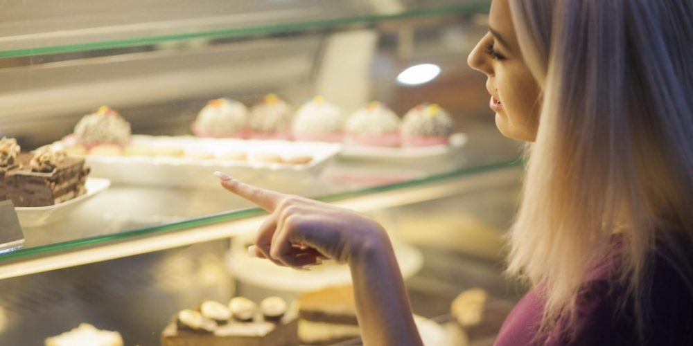 Trying to eat healthfully? Choose an indulgent dessert first
