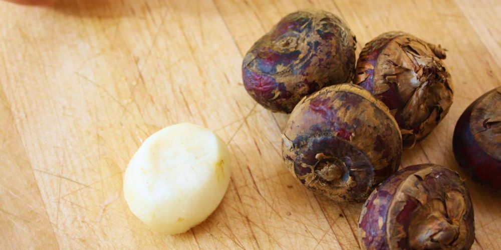 What are the health benefits of water chestnuts?