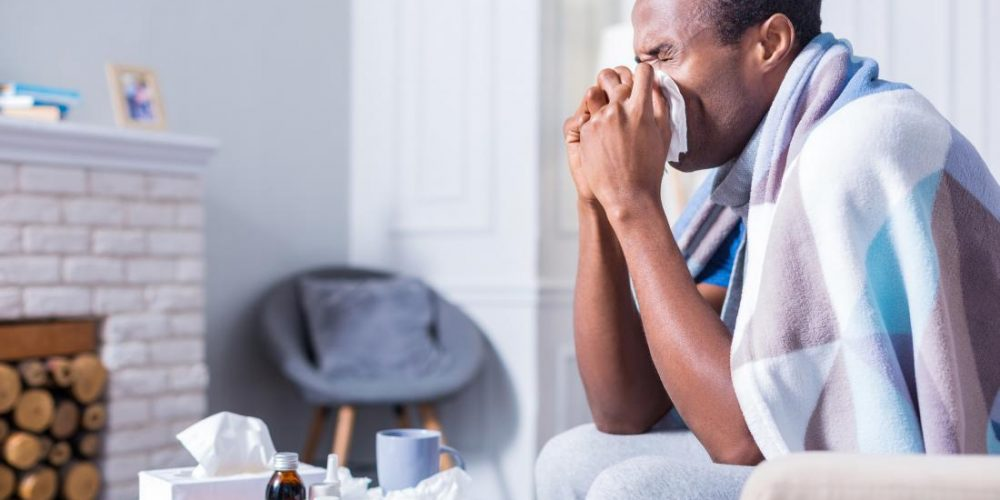 What are the signs of an upper respiratory infection?