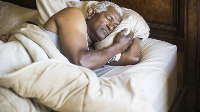 A lack of deep sleep could indicate Alzheimer's development