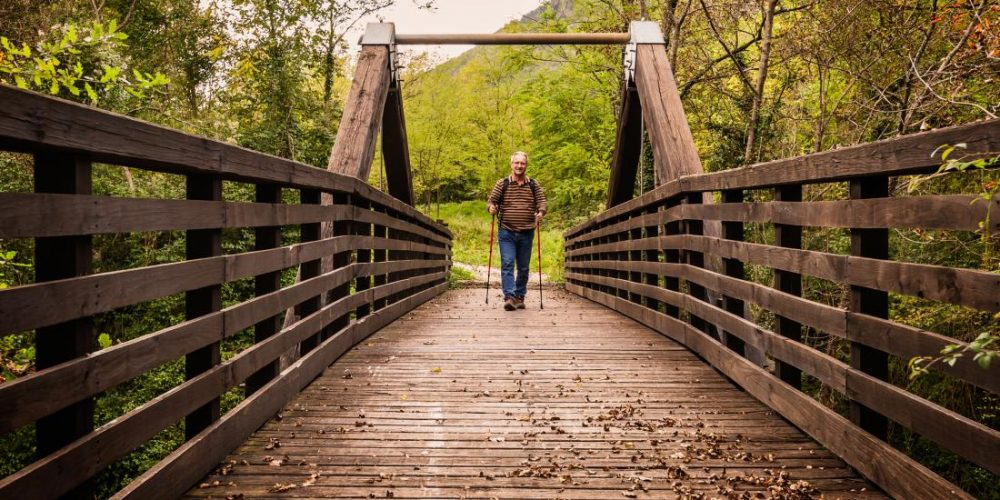 How 1 hour of brisk walking can benefit people with osteoarthritis