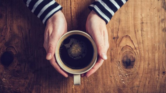 Fighting obesity with a single cup of coffee