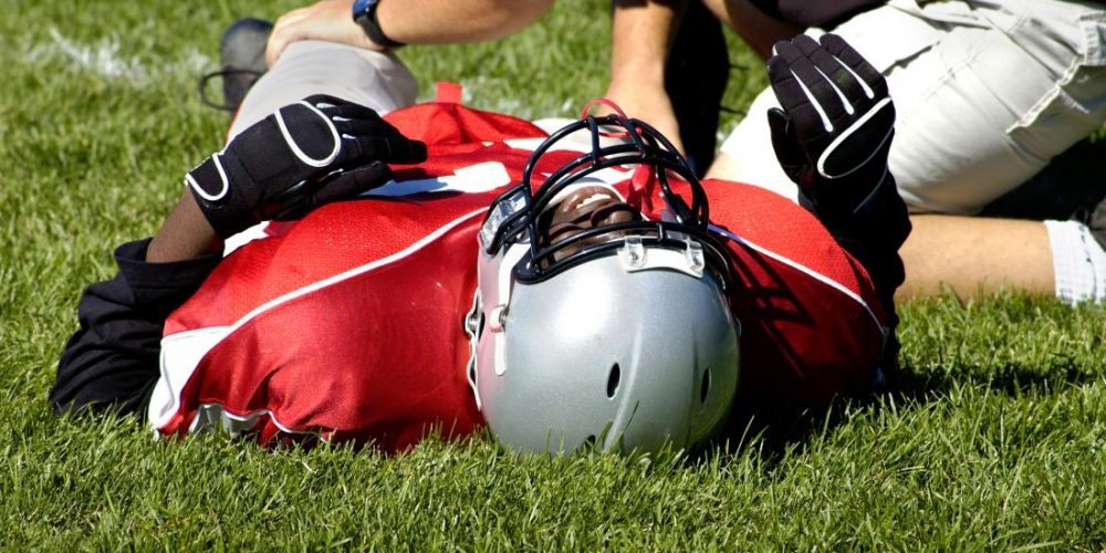 What causes a lateral collateral ligament sprain?