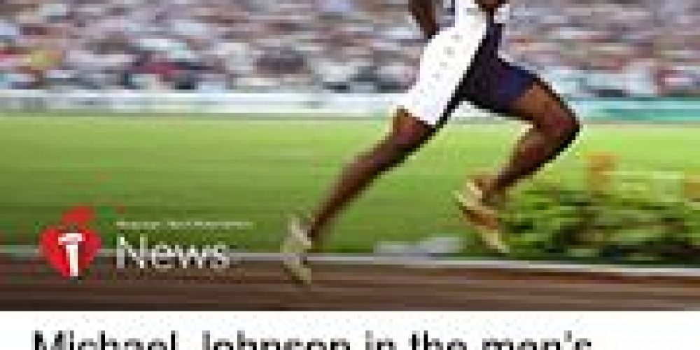 AHA News: A Stroke Slowed Olympic Legend Michael Johnson, But F.A.S.T. Response Sped His Recovery