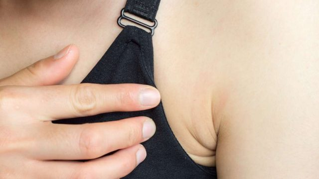 Can itchy armpits be a sign of cancer?