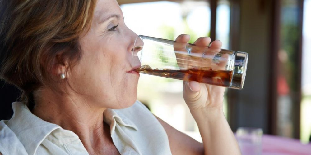 Diet drinks linked to a higher risk of stroke after the menopause