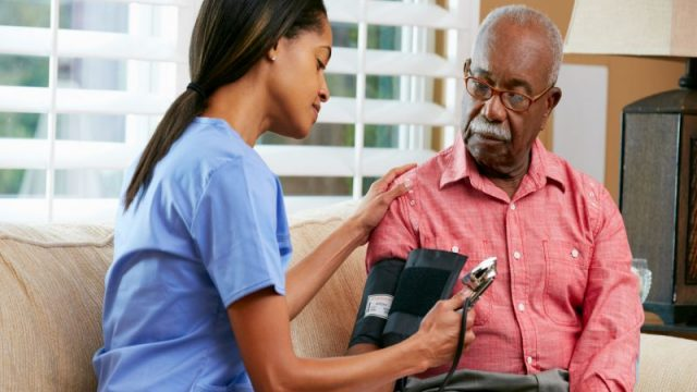 Upping Seniors' Blood Pressure Meds After Hospital Can Sometimes Bring Danger