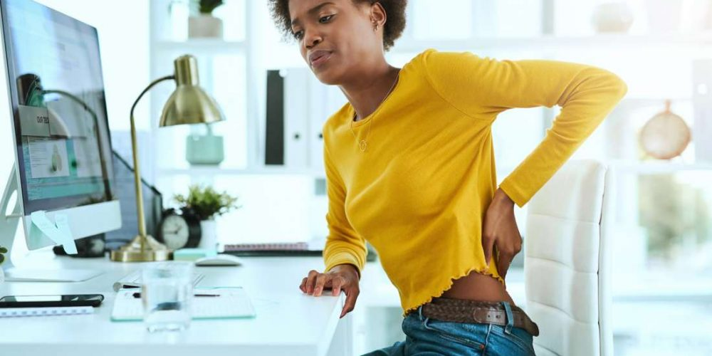 What causes a hot back?