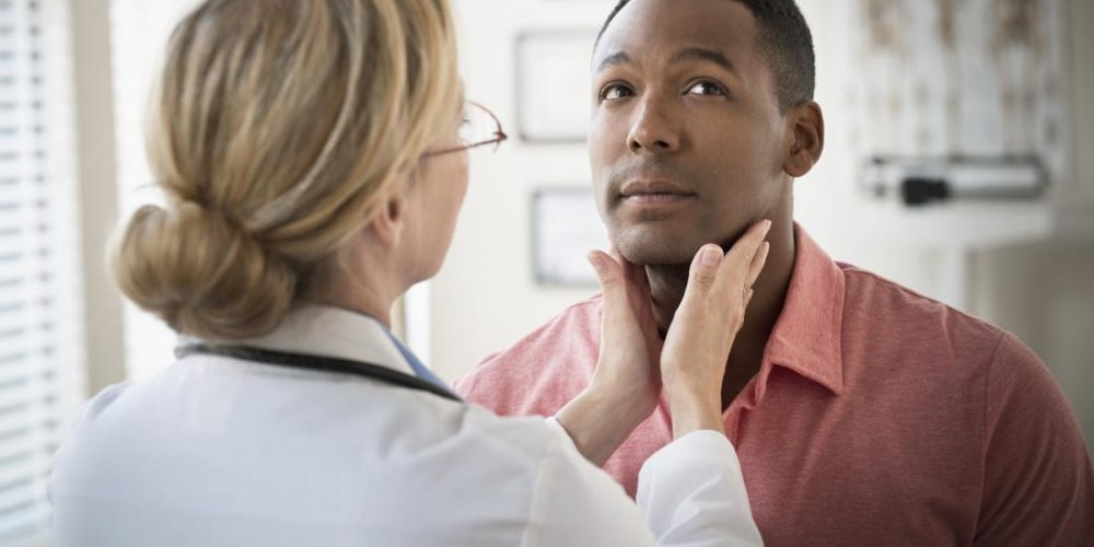 What does a hypoechoic thyroid nodule mean?