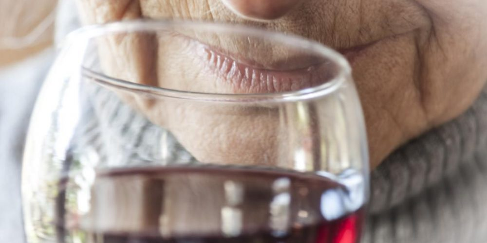 Alcohol may be less harmful for people over 50