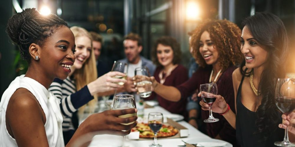 Moderate drinking tied to lower risk of hospitalization