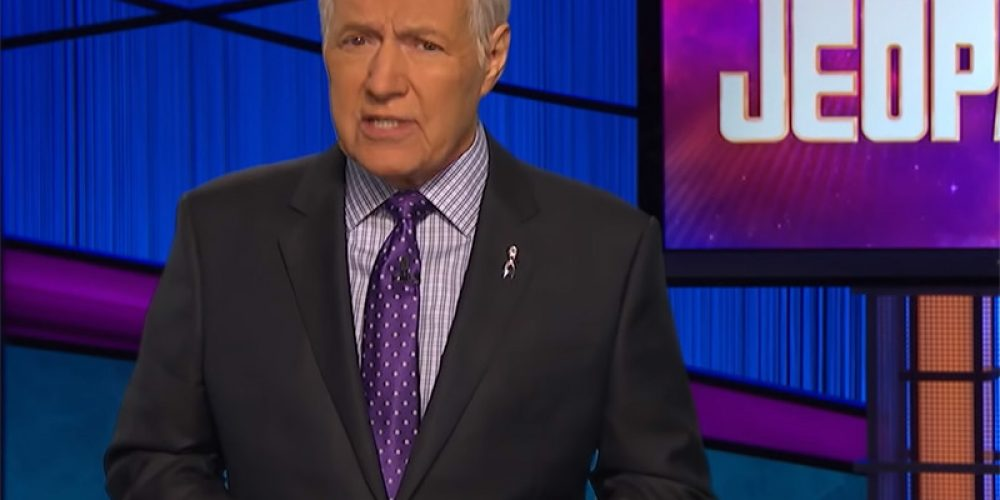 'I Wish I Had Known Sooner': Alex Trebek Issues PSA on Pancreatic Cancer