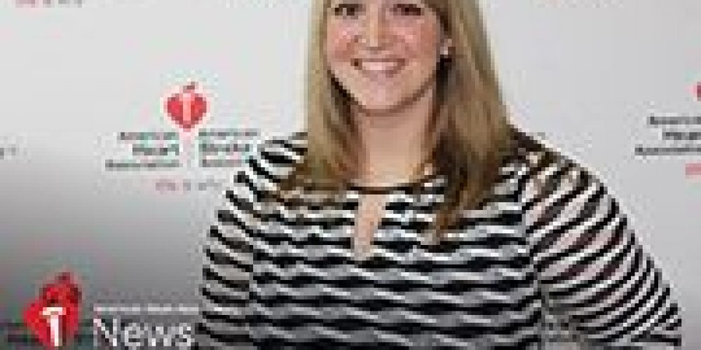AHA News: Her New Workout Routine Helped Spot a Rare Heart Defect