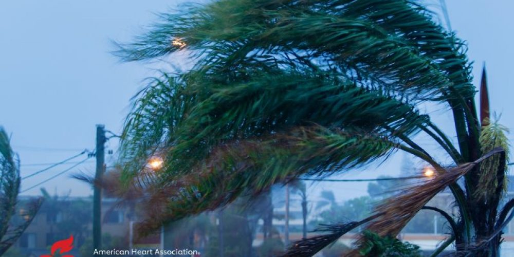AHA News: Hurricane Checklist: Batteries, Bottled Water – And A Plan for Heart Care