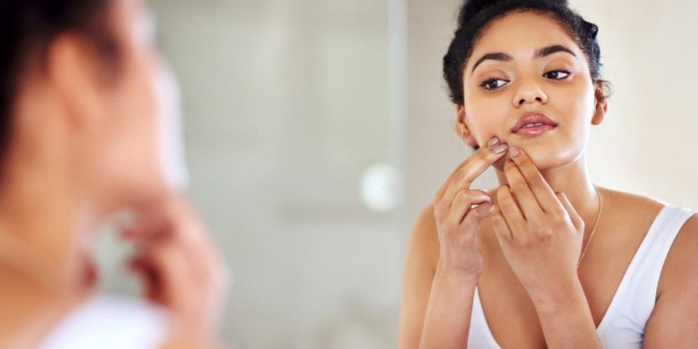 Too much iron may cause skin infections