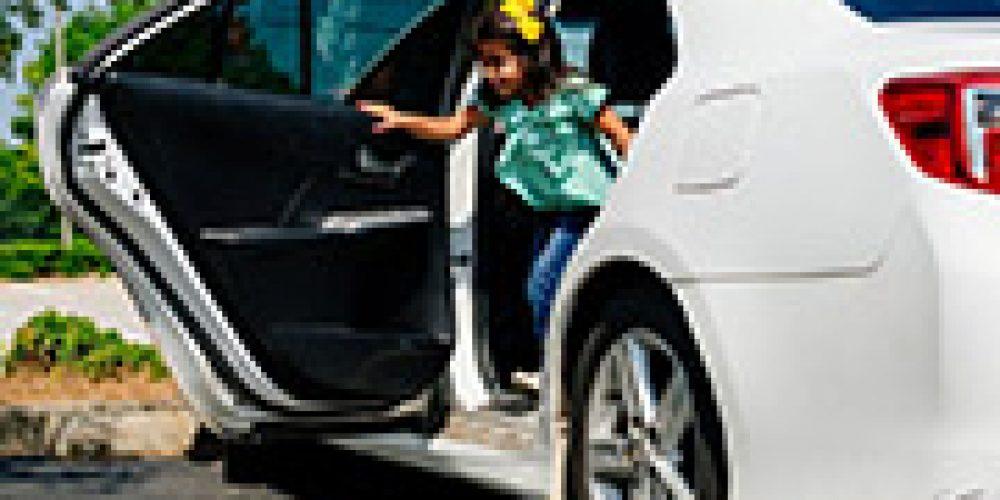 Don't Let Kids Wander Alone in Parking Lots