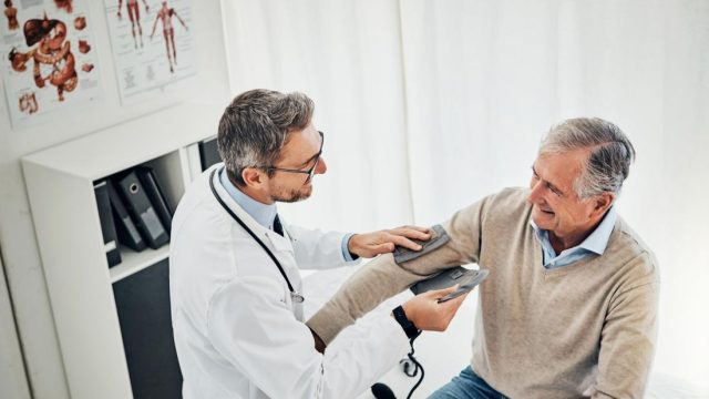 Study sets blood pressure target for people over 80