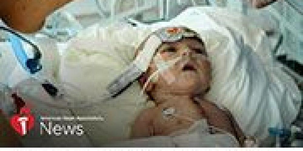 AHA News: Couple Kept the Faith as Baby Neared Death — and Then a Transplant Saved Him