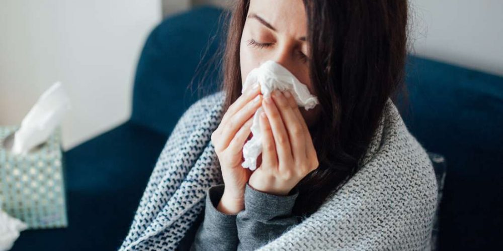 How does smoking weed affect a cold?