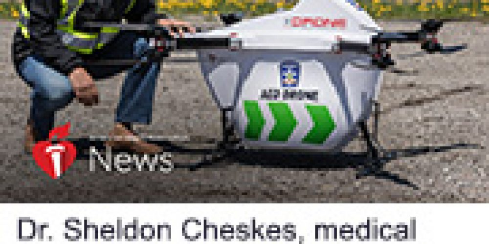 AHA News: Drone-Delivered AEDs Fly a Step Closer to Saving Lives