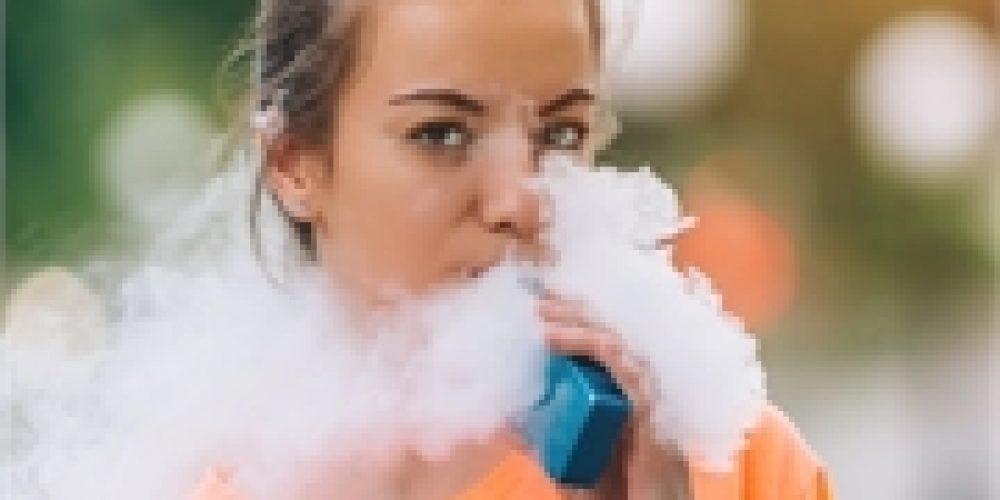 1 in 4 High School Kids Vape, Mint Flavor Preferred