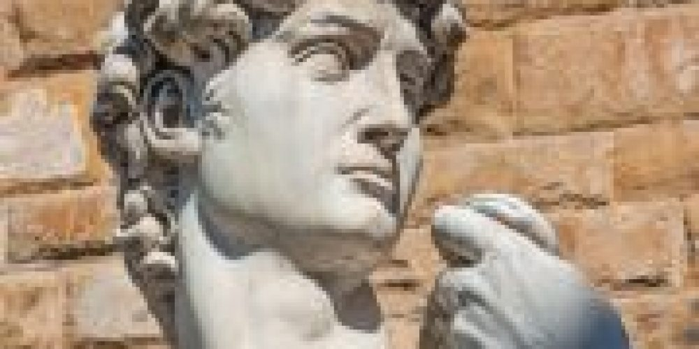 A Medical Insight in Michelangelo's David, 'Hiding in Plain Sight'