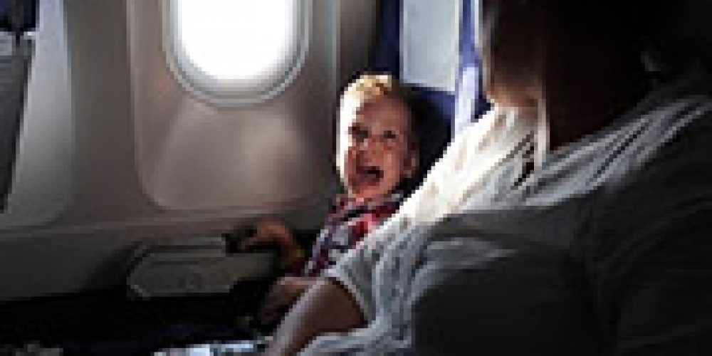 Most Airplanes Not Equipped With First Aid for Kids