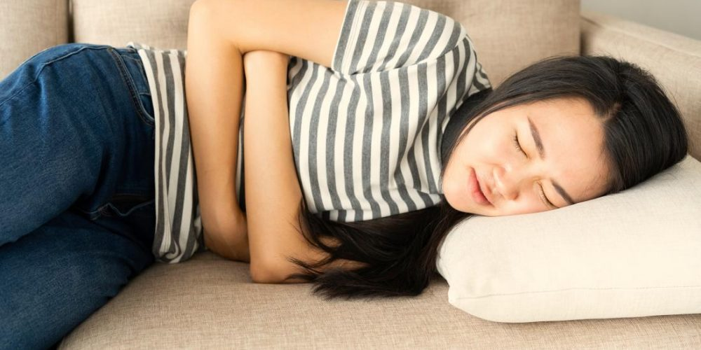 What can cause stomach pain and nausea?